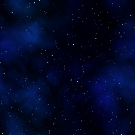 space: A starry nebula scene in outer space that tiles seamlessly as a pattern in any direction.