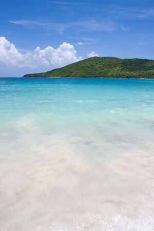 rico: The far eastern shore across from Flamenco beach on the beautiful Puerto Rican island of Culebra.