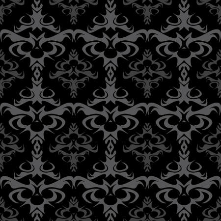 the gothic style: A seamless damask pattern or texture in format.