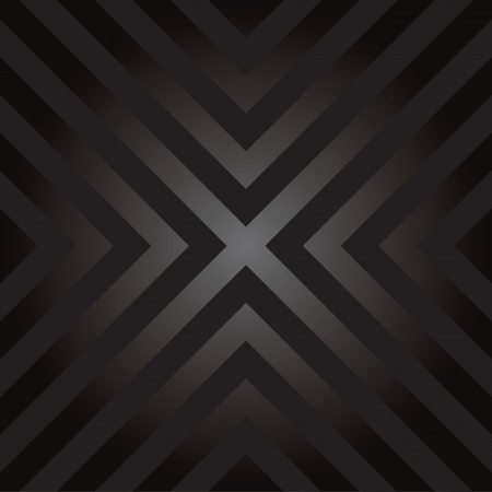 Seamless design with X shaped hazard striped lines. Illustration