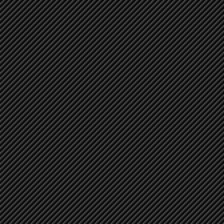 finer: Un super realista carbono fibra fondo que azulejos perfectamente como un patr�n. El tejido es apretado y m�s fino. Foto de archivo