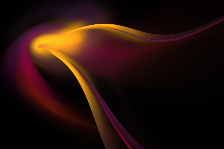 plenty: An abstract fractal vortex background with plenty of copy space. Stock Photo