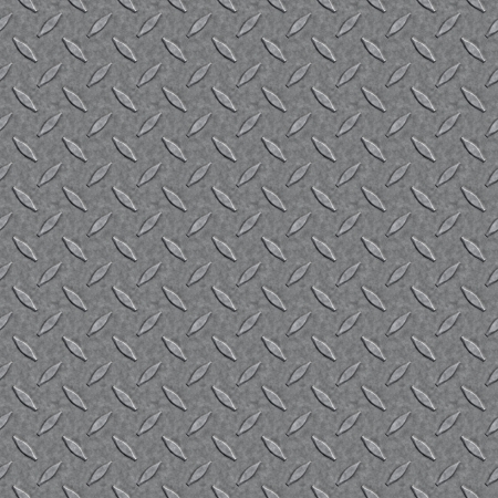 brushed aluminium: Silver diamond plate metal material that tiles seamlessly as a pattern.