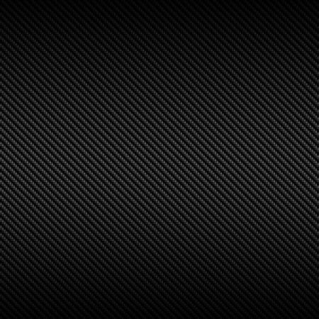 Zeer gedetailleerde afbeelding van een koolstofvezel achtergrond. Ook zou kunnen werken als een zwarte reptiel of een slangenhuid. Stockfoto