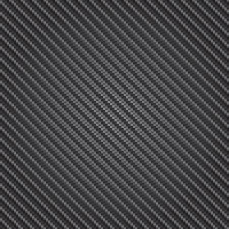 cf: Riflettente illustrazione altamente dettagliata di una fibra di carbonio Vettoriali