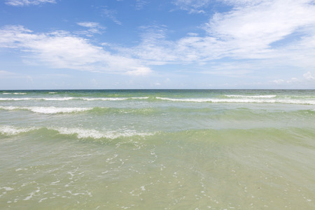 siesta: Siesta Key Beach is located on the gulf coast of Sarasota Florida with powdery sand.