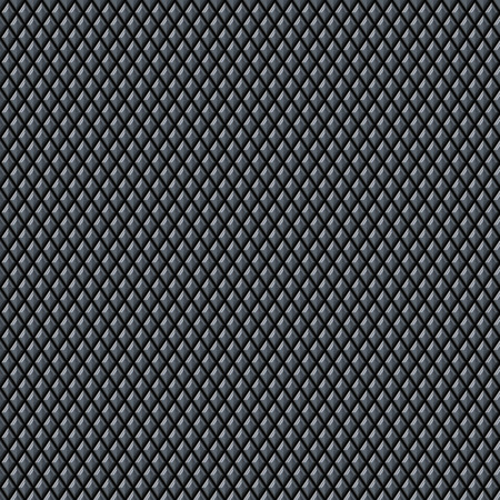 Diamond shaped metal texture. This tiles seamlessly as a pattern in any direction.