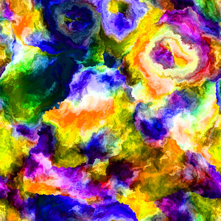 Rainbow abstract background in a variety of vivid colors. Stock Photo