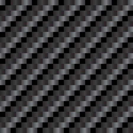 Reflective highly detailed illustration of a carbon fiber background in vector format. Illustration
