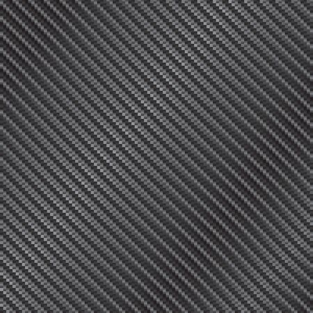 Reflective highly detailed illustration of a carbon fiber background in vector format. Vettoriali