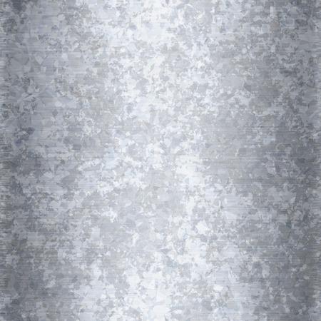 아연 도금 된 금속 질감 원활한 배경 무늬로 작동합니다. 스톡 콘텐츠