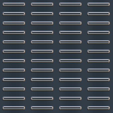 Gestoten metalen plaat patroon. U kunt deze tegel naadloos als een patroon.