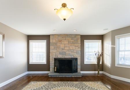 Mooie geënsceneerd interieur kamer in een modern huis.