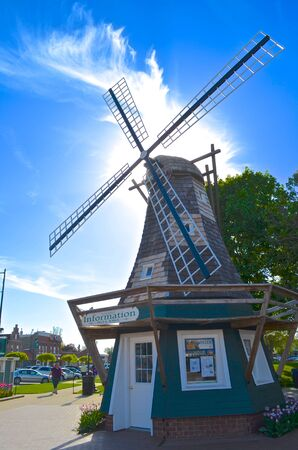 the historical: Dutch Windmill Historical Attraction Building