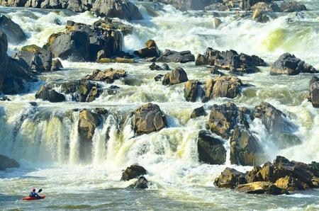 Great Falls Waterfall Virginia
