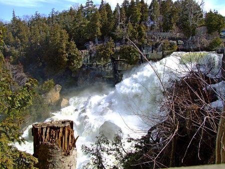 Inglis Falls on the Niagara Escarpment.