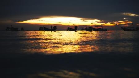 Nach Sonnenuntergang Lizenzfreie Bilder
