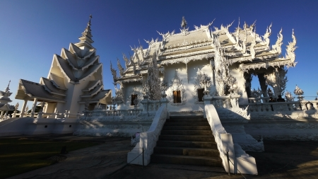 Weiß buddhistischen Heiligtum