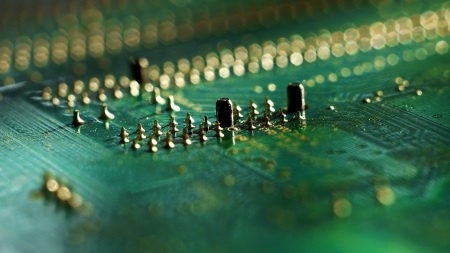 Computer Circuit Board Lizenzfreie Bilder
