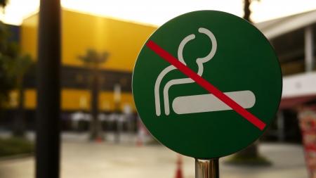 Anmelden oder Symbol von No Raucherbereich