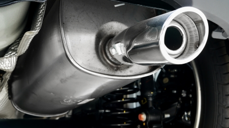 muffler: Car Exhaust Pipe and Stainless Steel Tail Pipe.