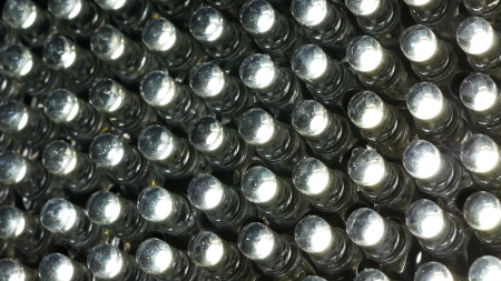 Close Up LED-Licht Lizenzfreie Bilder