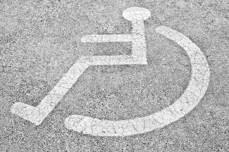 Disabled Parking Stock Photo - 12718725