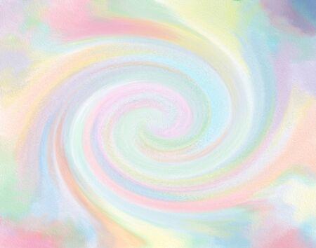 vertigo: Soft pastel candy coloured vertigo