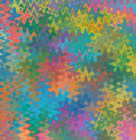 Colour spatter puzzle