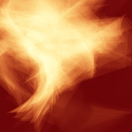 Red and yellow edgy flame background