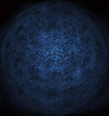 Planetary dust in space (orange) Reklamní fotografie