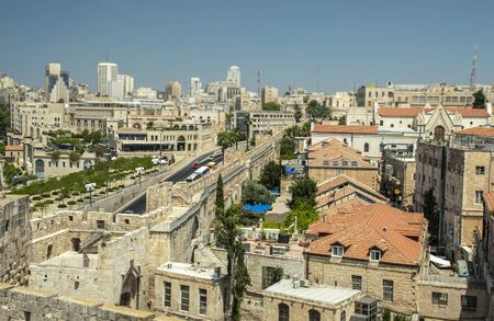 View of Jerusalem from above
