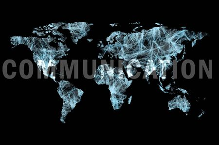 Communication across the worldmap