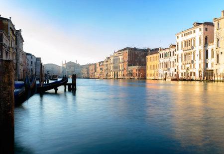 View of the Grand Canal in Venice, Italy Archivio Fotografico