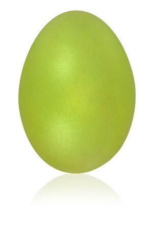 bitter: bitter lemon yellow egg isolated background Stock Photo