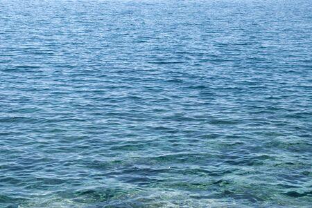 split level: Sea water -background