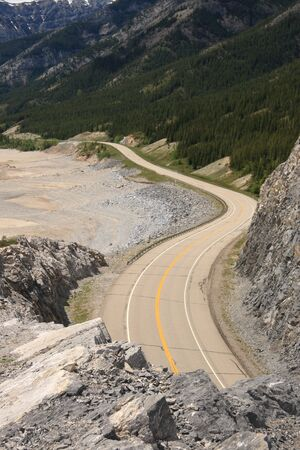 Winding Mountain Highway