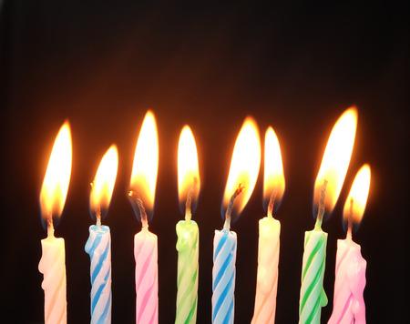 velitas de cumpleaños: la quema de velas de cumpleaños