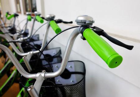 handlebar: background of the bike handlebar