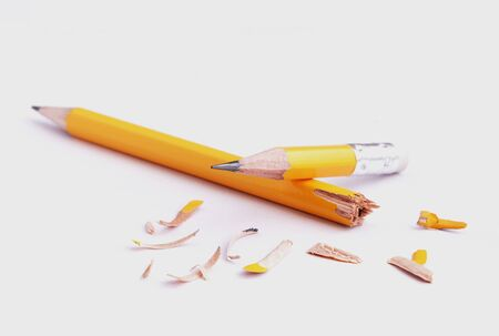 sharp pencil: conception of new reborn and new idea from the sharp pencil