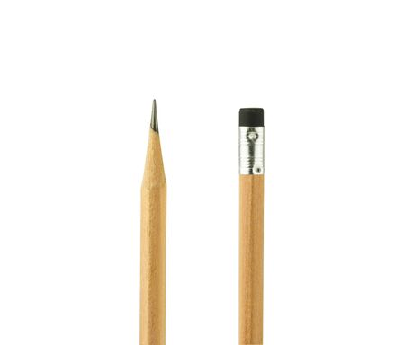 close up isolated pencil on white background Stock Photo