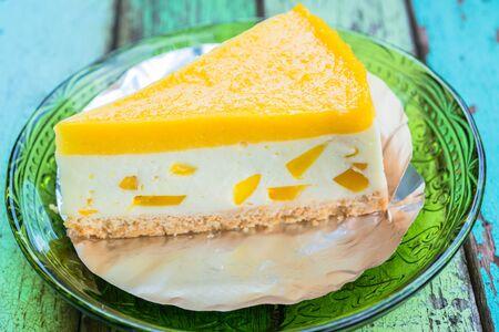gels: Lemon cheesecake