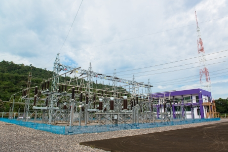 Power station for making electric energy  photo