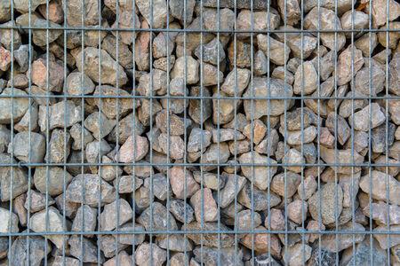 retaining: Detail shot of a stone retaining wall