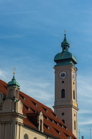 View of Munich city center photo