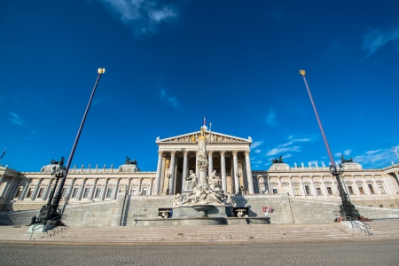 Austrian Parliament in Vienna photo