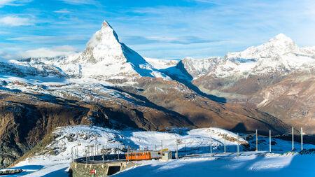 Matterhorn peak, Zermatt, Switzerland  Zdjęcie Seryjne