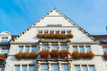 Building in munich city center photo