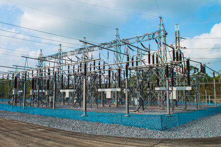 electric power station: Power station for making electric energy