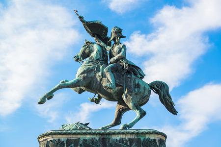 eugene: Sculpture of prince Eugene at Hofburg, Vienna